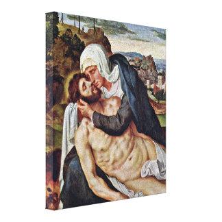 Willem Key - Lamentation Stretched Canvas Print