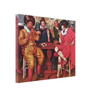 Willem Pieterszoon Buytewech - Merry Company Canvas Prints
