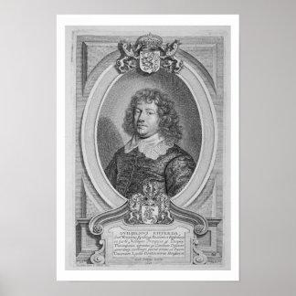 Willem Ripperda (1600-69) de 'DES Homm de los retr Póster