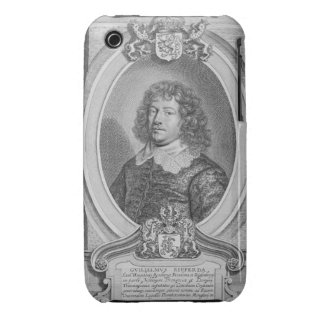 Willem Ripperda (1600-69) from 'Portraits des Homm iPhone 3 Case-Mate Case