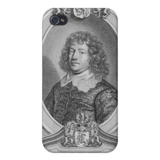 Willem Ripperda (1600-69) from 'Portraits des Homm iPhone 4/4S Covers
