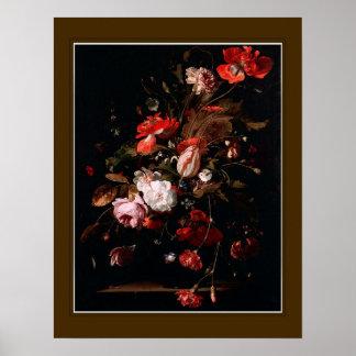 Willem van Aelst, 'flores ' Póster
