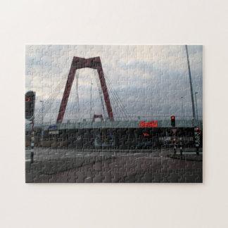 Willemsbrug, Rotterdam Jigsaw Puzzle