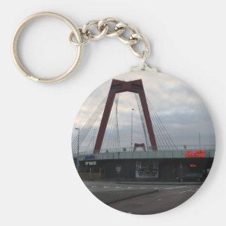 Willemsbrug, Rotterdam Keychain