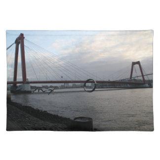 Willemsbrug, Rotterdam Placemat