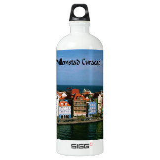 Willemstad Curacao Aluminum Water Bottle