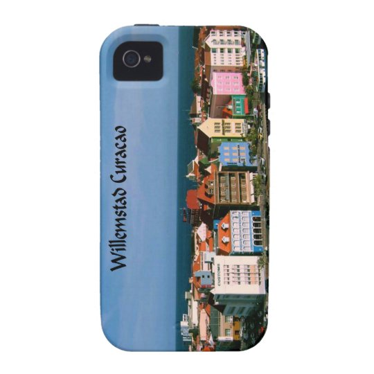 Willemstad Curacao Case For The iPhone 4