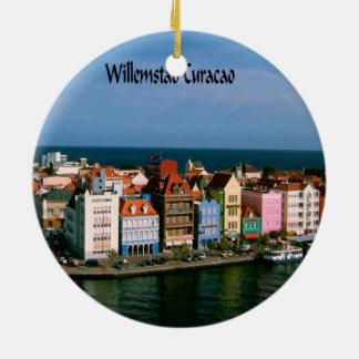 Willemstad Curaçao Adorno Redondo De Cerámica