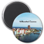 Willemstad Curacao Fridge Magnets