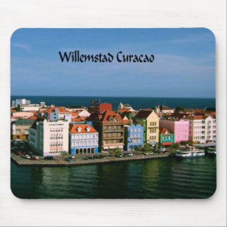 Willemstad Curacao Mouse Pad