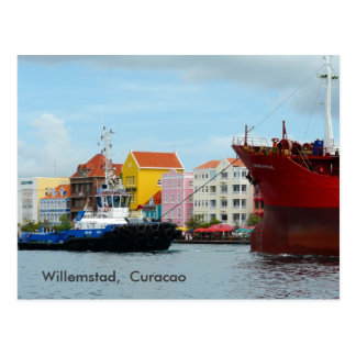 Willemstad,  Curacao Postcard