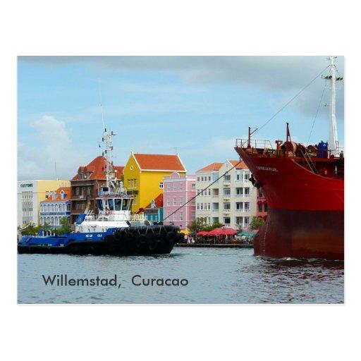 Willemstad,  Curacao Postcards