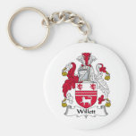 Willet Family Crest Key Chain