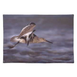 willet in flight cloth placemat