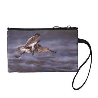 willet in flight coin purse