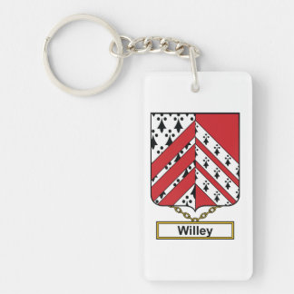 Willey Family Crest Keychain
