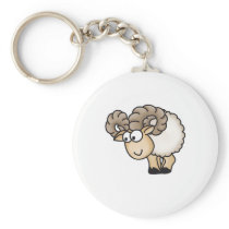 Willi the Ram - Aries - Male Sheep - Mouflon Keychain