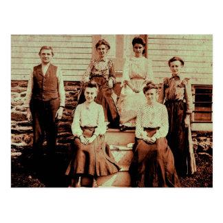 William A Lahr's Cigar Factory Staff 1900 Postcard
