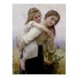 William Adolphe Bouguereau Art Poster