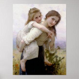 William Adolphe Bouguereau Art Poster