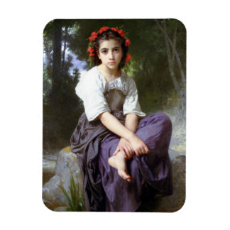 William Adolphe Bouguereau Art Rectangular Photo Magnet