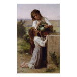 William-Adolphe Bouguereau-At The Fountain lg Poster