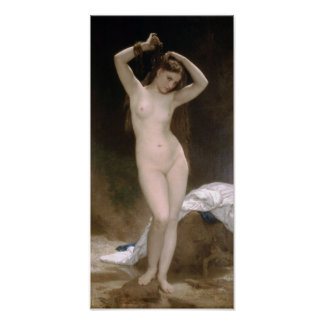 William-Adolphe Bouguereau-Bather Poster