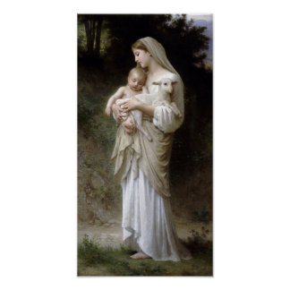 William-Adolphe Bouguereau-Linnocence lg Poster