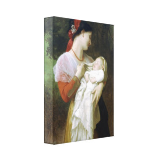 William-Adolphe Bouguereau - Maternal Admiration Canvas Print