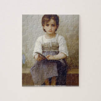 William-Adolphe Bouguereau - The Difficult Lesson Jigsaw Puzzle