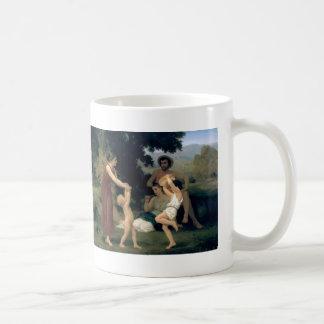 William-Adolphe Bouguereau-The Pastoral Recreation Mug