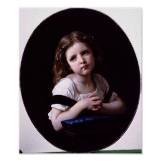William-Adolphe Bouguereau-The Prayer Posters