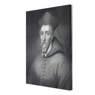 William Allen , engraved by J.Cochran Canvas Prints