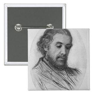 William Allingham, 1874 Button