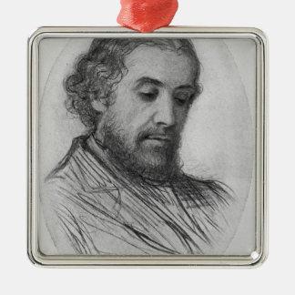 William Allingham, 1874 Metal Ornament