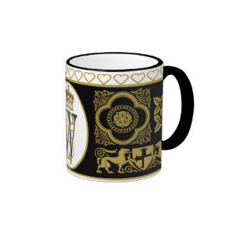 William and Catherine Commemorative Cup Coffee Mugs