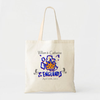 William and Catherine England Doves Canvas Bag