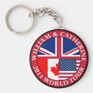 William and Catherine Keychain