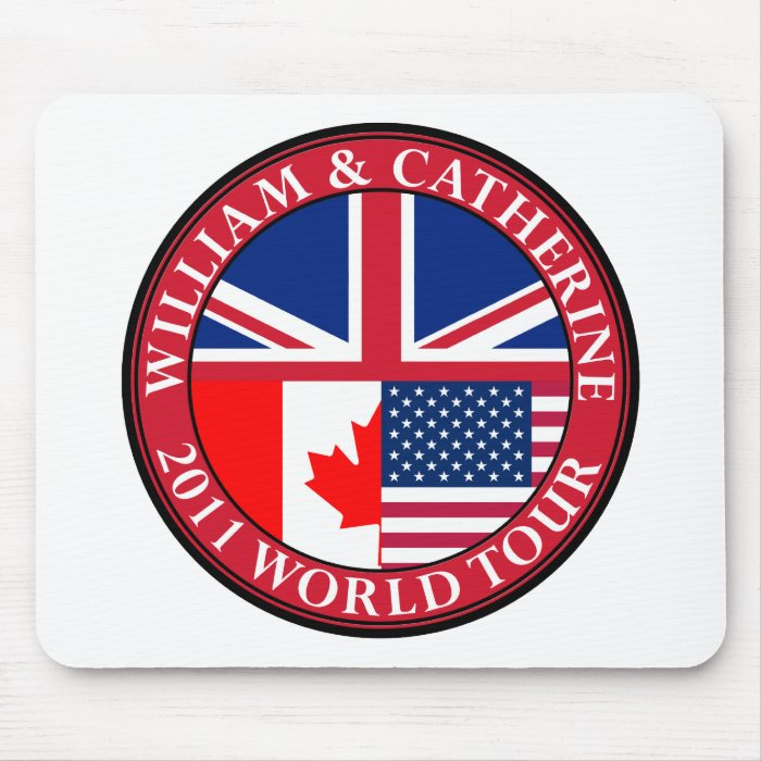 William and Catherine Mouse Pad