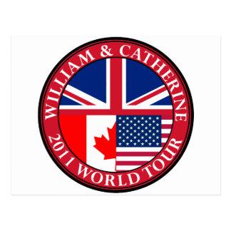 William and Catherine Postcard