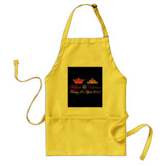 William and Catherine Royal Wedding Adult Apron