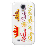 William and Catherine Royal Wedding Samsung Galaxy S4 Covers