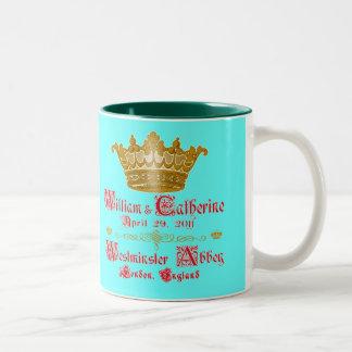 William and Catherine Royal Wedding Cup Coffee Mugs