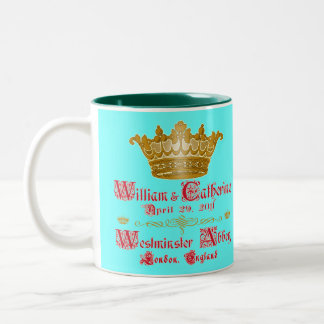 William and Catherine Royal Wedding Cup Two-Tone Coffee Mug