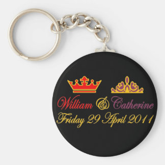 William and Catherine Royal Wedding Keychain