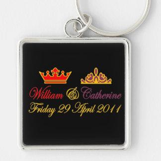 William and Catherine Royal Wedding Keychain