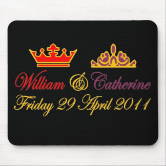 William and Catherine Royal Wedding Mouse Pad