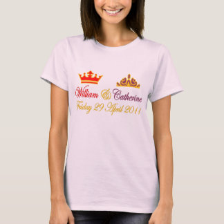 William and Catherine Royal Wedding T-Shirt