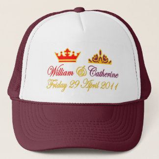 William and Catherine Royal Wedding Trucker Hat