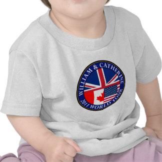 William and Catherine T-shirts
